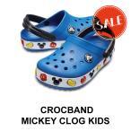 【クロックス crocs キッズ】 crocband Mickey/Minnie clog kids/クロックバンド ミッキー/ミニー クロッグ キッズ