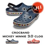 【クロックス crocs メンズ レディース】crocband mickey minnie3.0 clog/クロックバンド  ミッキー ミニー3.0 クロッグ