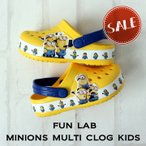 【クロックス crocs キッズ】fun lab minions multi clog kids/ファンラブ ミニオンズ マルチ クロッグ キッズ