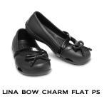 【クロックス crocs キッズ】lina bow charm flat kids/リナ ボウ チャーム フラット キッズ