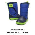 クロックス キッズ ブーツ crocs ロッジポイント スノー ブーツ キッズ lodgepoint snow  boot kids