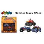 【クロックス アクセサリー 】 ジビッツ Monster Truck 3Pack モンスタートラック 3パック