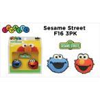 【クロックス アクセサリー 】 ジビッツ Sesame street F16 3pk セサミストリート