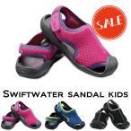 クロックス キッズ crocs スウィフトウォーター サンダル キッズ swiftwater sandal kids