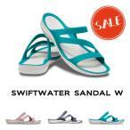 crocs クロックス レディース swiftwater sandal/スウィフトウォーター サンダル ウィメン