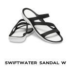【クロックス レディース】Swiftwater Sandal W / スウィフトウォーター サンダル ウィメン