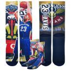 フォーベアフィート メンズ 下着 ソックス/靴下 For Bare Feet NBA Center Court Sublimited Player Socks - Men's