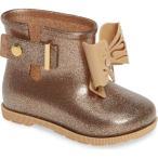 ショッピングメリッサ ミニメリッサ キッズ シューズ  Mini Melissa Mini Sugar Rain Boot (Walker & Toddler)