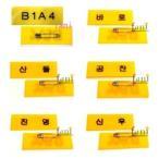 B1A4 b1a4 ビーワンエーフォー 名札