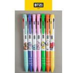 防弾少年団(BTS)公式 3色ボールペン OFFICAL BT21(7種類選択別)