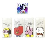 BTS���ƾ�ǯ�� BT21 ����饯�����С������ (Ʃ��) IPHONE7/8 CASE�������̡�4����     �ڥ᡼���زġ�