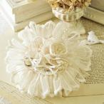 リングピロー 手作り キット 手芸 Juno プレミアムレースのお花のリングピロー 結婚式 ウェディング