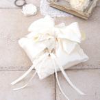 リングピロー 手作りキット おしゃれ 花びらとリボン スクエア 結婚式 ハンドメイド 手芸 ハマナカ