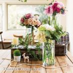 Thanksful Flower Vase サンクスフルフラワーベース 結婚式 両親 プレゼント 記念品 ギフト ウェディング サンドブラスト 名入れ 花瓶 ポイント5倍