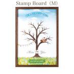 Wedding Stamp Board(M) ウェディングスタンプボード Mサイズ 演出アイテム 結婚式 受付 プレゼント 二次会 ポイント5倍