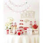 クリスマス フラッグガーランド(BOX付) 演出アイテム 結婚式 お祝い 二次会 パーティー 記念日 プレゼント ギフト イベント デコレーション ポイント10倍