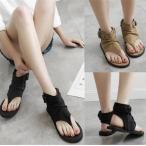 ショッピングブーツサンダル サマーブーツ サンダル 痛くない靴 疲れない靴 ストラップ サマーブーツ 美脚 ブーツ レディース 靴 ブーツ