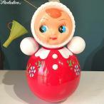 キッチュキッチン おきあがりこぼし人形 Lサイズ レッド Tumbler Girl L Red