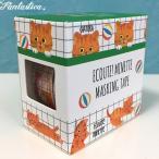 マリーニ*モンティーニ エクート・ミネット 猫のマスキングテープ 2柄セット ちゃとら