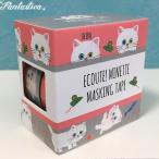 マリーニ*モンティーニ エクート・ミネット 猫のマスキングテープ 2柄セット しろ