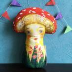 ナタリー・レテ ドール マッシュルーム Mushroom キノコのぬいぐるみ人形