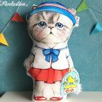 コヤンイサムチョン・アンクルキャット 猫のドール・クッション 幼稚園のルミ RUMI goes to the kindergarten