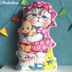 コヤンイサムチョン・アンクルキャット 猫のドール・クッション ヴィンテージ・トイズとルミ RUMI and old toys