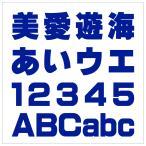 【カッティング文字 3cm  3 角ゴシック(太)】 屋外使用OK 看板・POP・車両・表札などに!!