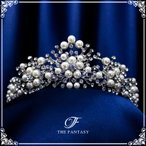 Yahoo!The Fantasyティアラ ウエディング ティアラ ヘッドドレス ブライダル 髪飾り 王冠 ft8121plsr