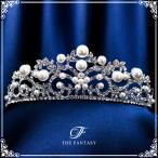 ティアラ ティアラ ウエディング ヘッドドレス  ブライダル 髪飾り 王冠 fty016plsr
