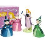 ロイヤルドルトン スリーピングビューティー ブライア・ローズとフェアリーズ 妖精たち[眠れる森の美女] 陶器フィギュアリン4点セット Royal  Doulton