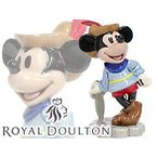 ロイヤルドルトン ミッキーマウスシリーズ ブレイブリトルテイラーミッキー 陶器フィギュアリン[限定版] Royal  Doulton ディズニー
