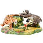 ロイヤルドルトン ジャングルブック フィギュアリン Run Mowgli Run 限定版 Royal  Doulton ディズニー