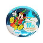 TDL 17周年記念 2000年 ミッキー 缶バッジ  缶バッチ ディズニー