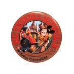 TDL ビッグサンダーマウンテン 1987年 オープン記念 ミッキー 缶バッジ 缶バッチ ディズニー