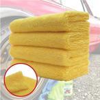 洗車タオル 正規販売店 AguaMirai アグアミライ プレミアム  フチなし マイクロファイバークロス 40x40cm(4枚入り)
