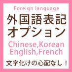 外国語表記オプション