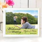 送料無料Photoウェルカムボード1shot(高品質データタイプ)A3サイズ/結婚式