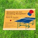 ウェルカムボード手作り用デザインペーパー 卓球 Table tennisA2