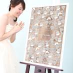 ショッピング結婚 ビンテージ寄せ書きメッセージボード「ines(イネス)」 【B2サイズ(120名様用)】