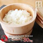 平成28年度滋賀県産夢ごこち(30kg) 特別栽培米 近江米 玄米 送料無料