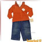 ティンバーランド ボーイズ ニットジャケットシャツデニム 3ピースセット ベビー服 41573036
