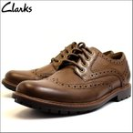 クラークス Clarks 靴 革靴 シューズ ビジネスシューズ カジュアル 本革 レザー ブラウン メンズ ブランド 26129350