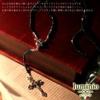 luminio ルミニーオ ロザリオ ネックレス ブラックスピネル シルバー925 ブランド 人気 ランキング 123