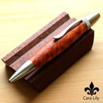杢杢工房 パトリオット ボールペン 花梨 かりん こぶ杢 高級木材 ペン 日本製 木製 職人 手作り 15301