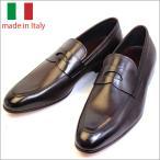 イタリア メンズ シューズ コイン ローファー レザー ビジネスシューズ T.MORO ダークブラウン 子牛 紳士靴 革靴 スリップオン スリッポン vavi