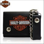 ショッピングハーレーダビッドソン ハーレーダビッドソン ハーレー Harley-Davidson 財布 ショートウォレット ロゴ ウォレットチェーン 4328 セール 2017 春夏 新作