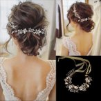 ヘッドドレス 髪飾り ヘアアクセサリー リボン 小枝 お呼ばれ レディース 髪留め 和装 着物 ウェディング ヘッドアクセサリー振袖 結婚式 フォーマル ブライダル