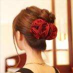 髪飾り バラ ばら ヘアアクセサリー レディース ヘアバンド 髪留め ヘッドアクセ 着物 和装 袴 和装小物 和服 振袖 椿 ヘッドドレス 和風小物