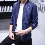 ジャンパー ブルゾン スタジャン ジャケット メンズ ライダースジャケット 大きいサイズ 夏 秋 立ち襟 薄手